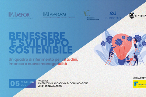 Webinar | Benessere e sviluppo sostenibile | 05.05.2021 ore 17.00